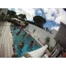 Aquabike natation au Cap d'Agde