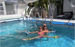 Cours d'aquagym personnalisée sport Cap d'Agde
