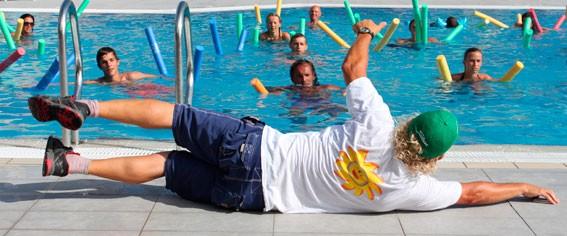 Chez Kiki : Club d'aquabike, aquagym, bébé nageur , école de natation, coaching.